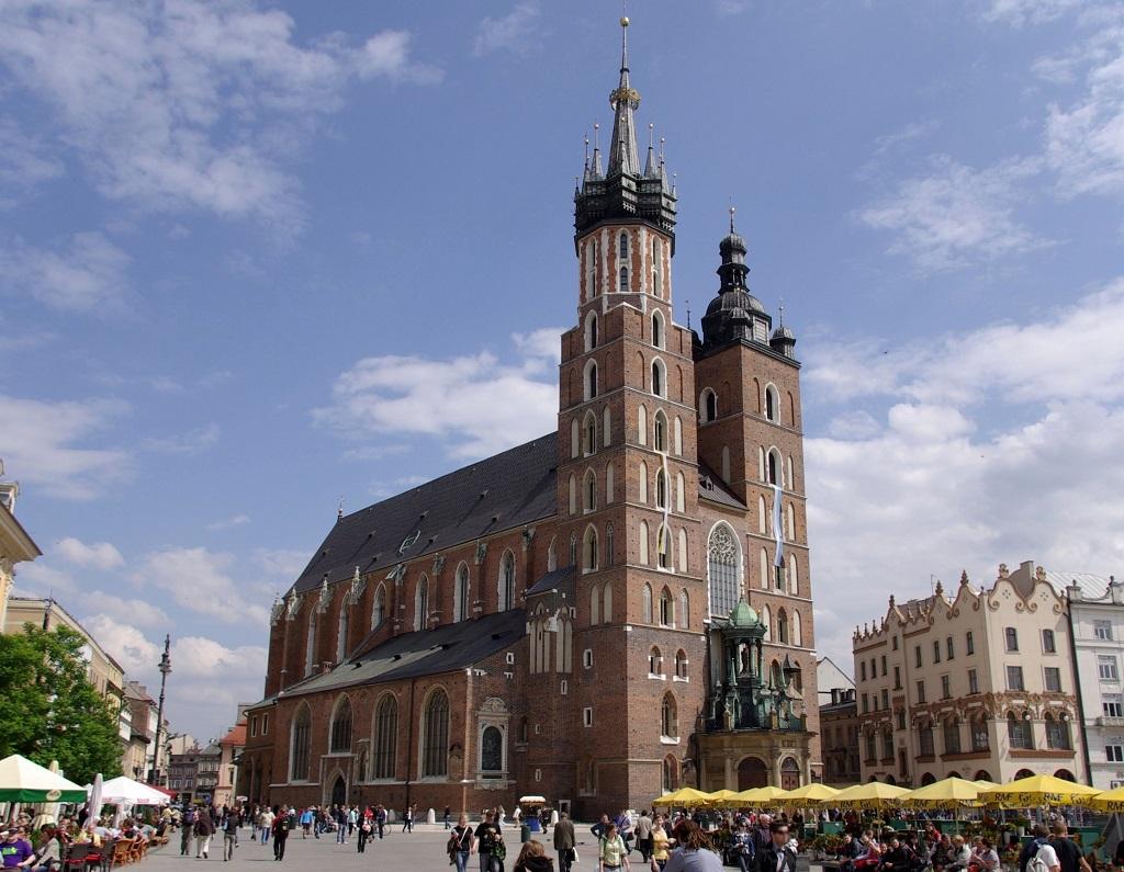 Cracovia - chiesa di S.Maria